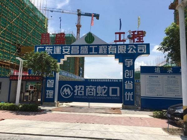 招商局雍華府花園白蟻預防工程施工